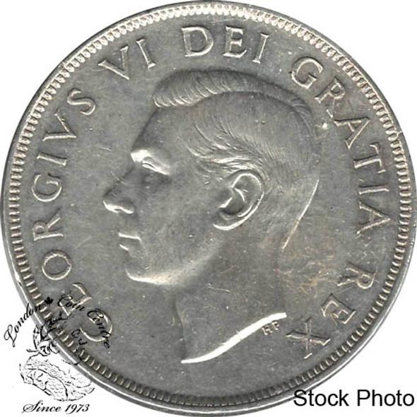 Canada: 1950 $1 SWL EF40