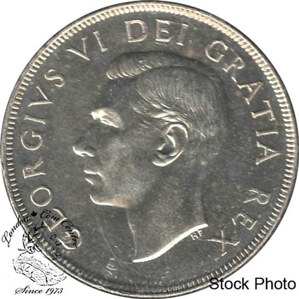 Canada: 1950 SWL Silver Dollar MS63