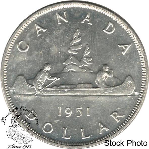 Canada: 1951 $1 MS62