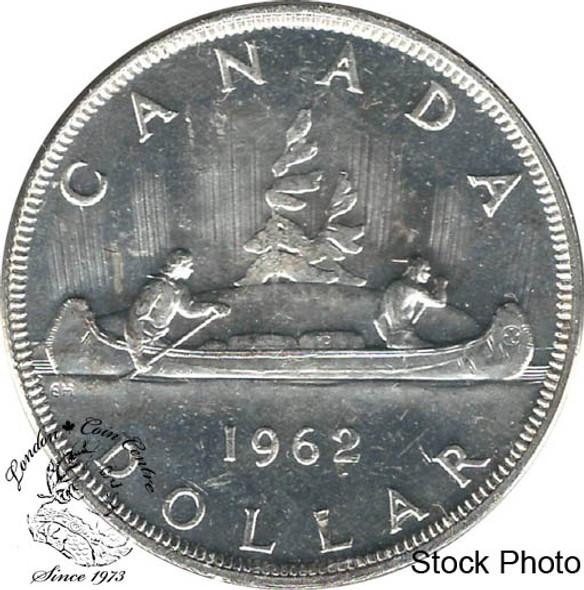 Canada: 1962 $1 MS62