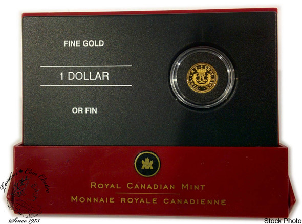 Canada: 2006 $1 Gold Louis (1723 Louis D'Or Mirliton) Pure Gold Coin