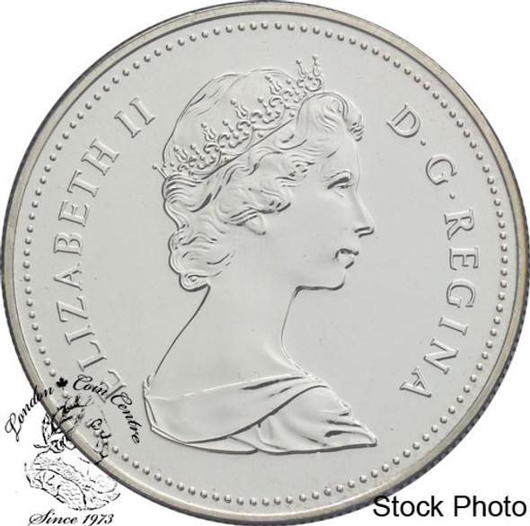 Canada: 1982 $1 Regina Centennial BU Silver Dollar Coin