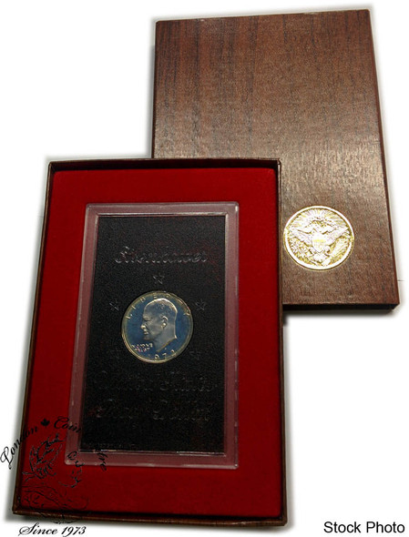 United States: 1972 Eisenhower Proof Silver Dollar Coin