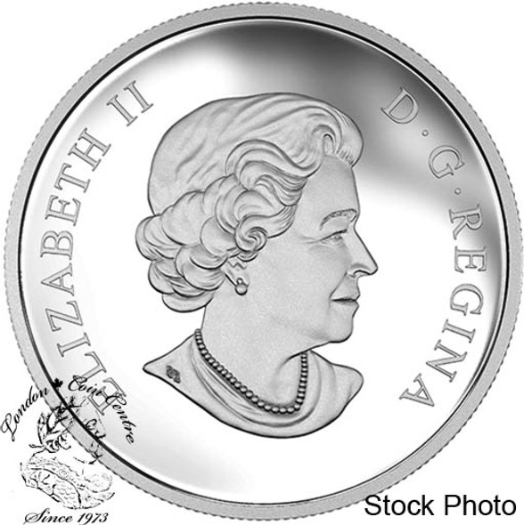 Canada: 2016 $10 Star Trek Crew Spock 1/2 Ounce Silver Coin