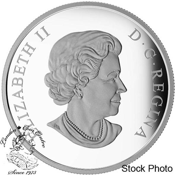 Canada: 2016 $20 Star Trek Enterprise Silver Coloured Coin
