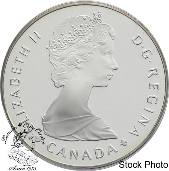 Canada: 1985 $1 National Parks Centennial Proof Silver Dollar Coin