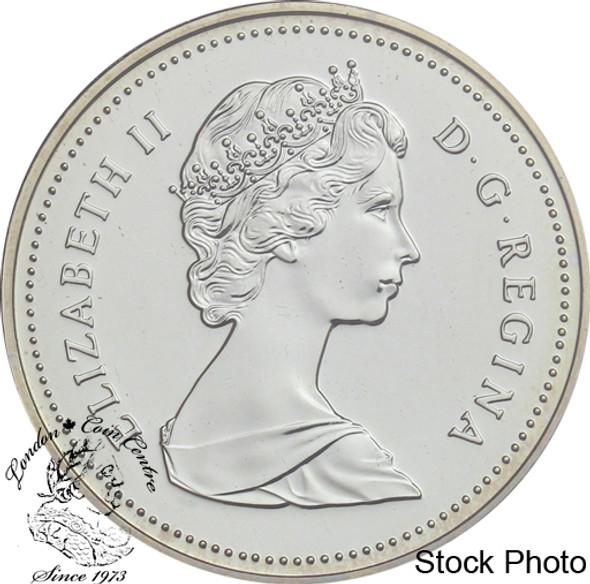 Canada: 1986 $1 Vancouver Centennial BU Silver Dollar Coin