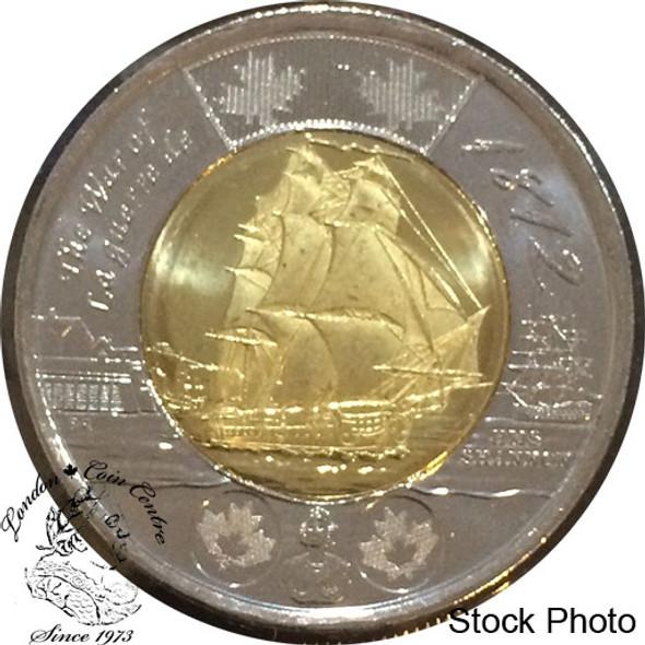 Canada: 2012 $2 HMS Shannon (War of 1812) Coin BU