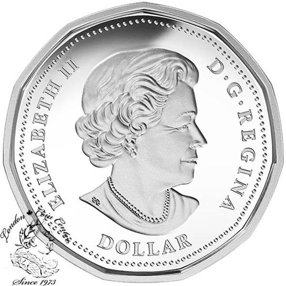Canada: 2016 $1 Lucky Loonie Silver Coin