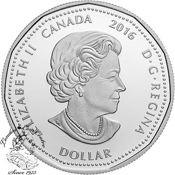 Canada: 2016 $1 Limited Edition Silver Dollar Celebrating Canadian Athletes Coin