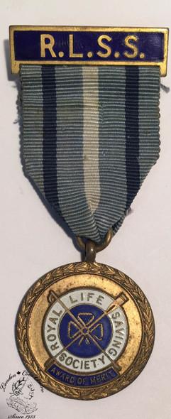 Canada: Royal Life Saving Society Medal - C. Elder 1951
