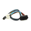 CB-4382-75 SFF-8643 Internal HD MiniSAS to SFF-8482 Internal SAS + Power (4-Pin) Cable