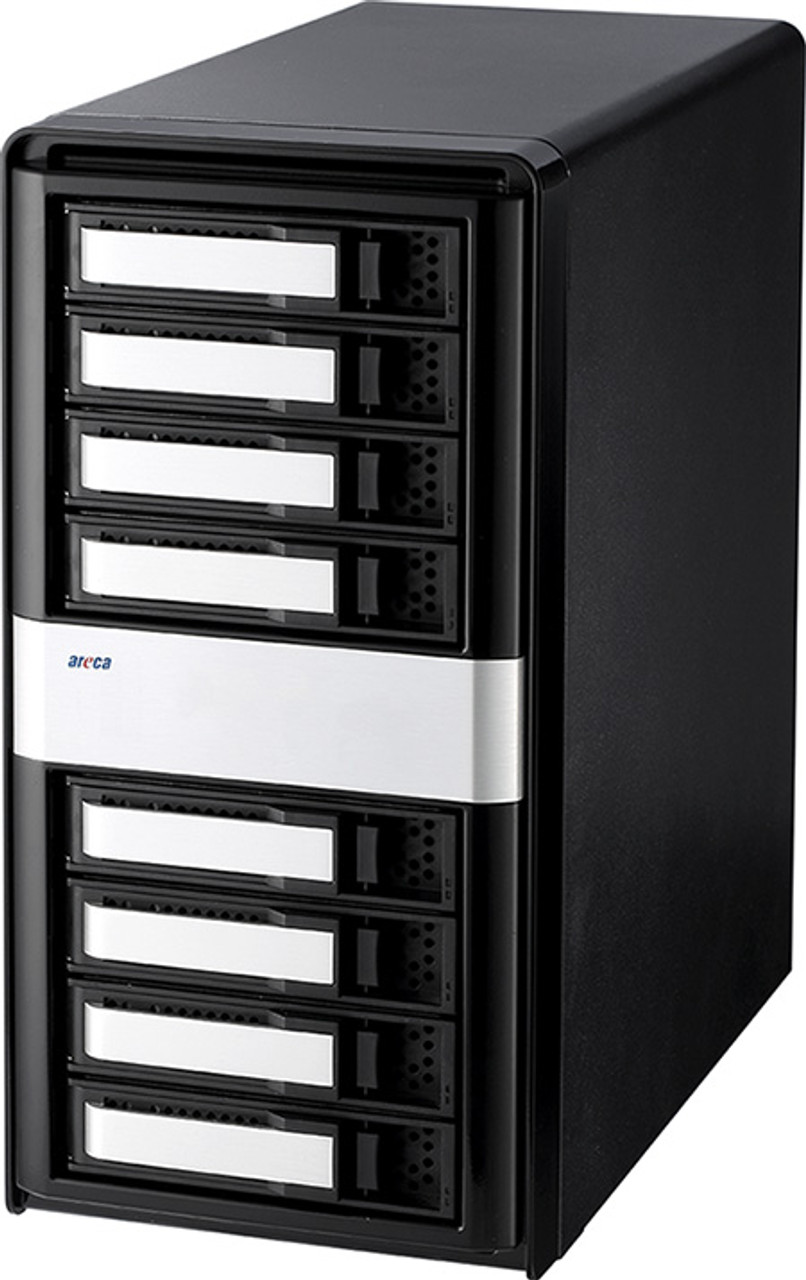 ARC-4038 8-Bay 12Gb/s SAS Tower JBOD Enclosure