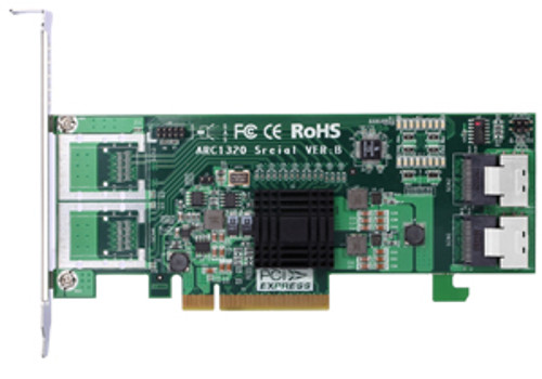 Areca ARC-1320-8i 8-Port SATA/SAS Non-RAID 6G Host Adapter