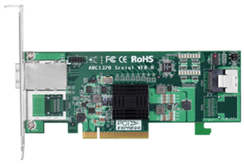 Areca ARC-1320-4i4x 4+4-Port SATA/SAS Non-RAID 6G Host Adapter