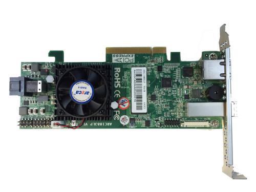 Areca ARC-1883LP (8 Port 12Gb/s SAS RAID Controller)