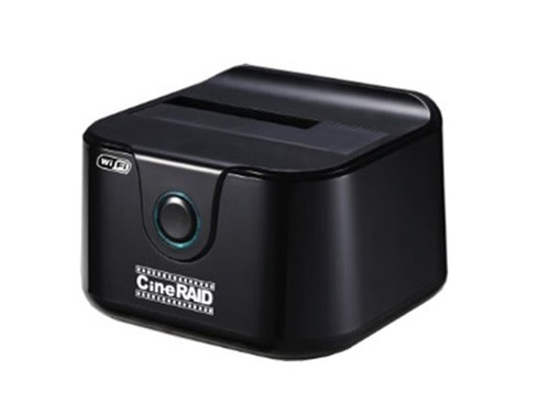 CineRAID CR-H135 Home Series USB 3.0 WiFi External Hard Drive Dock