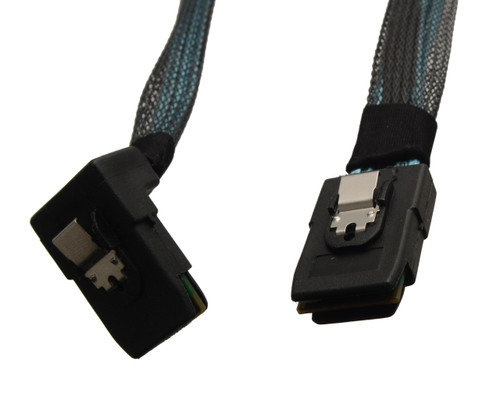 CB-R8787-75 90º SFF-8087 MiniSAS to SFF-8087 MiniSAS Cable