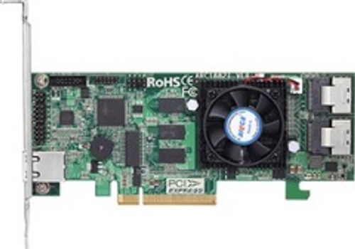 ARC-1225-8i 8-Port PCIe 3.0 Internal 6Gbps SAS RAID Adapter