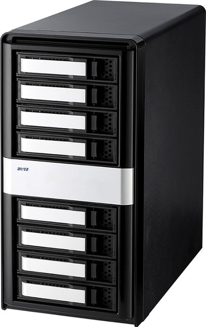 ARC-4038 8-Bay 12Gb/s SAS Tower JBOD Enclosure
