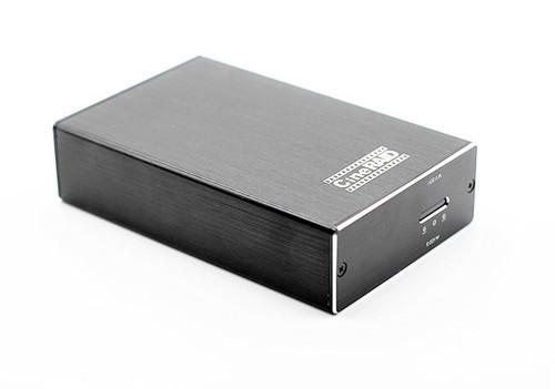 CineRAID CR-H218 (Portable Dual Bay SSD USB 3.1 Gen. 2 RAID Enclosure)
