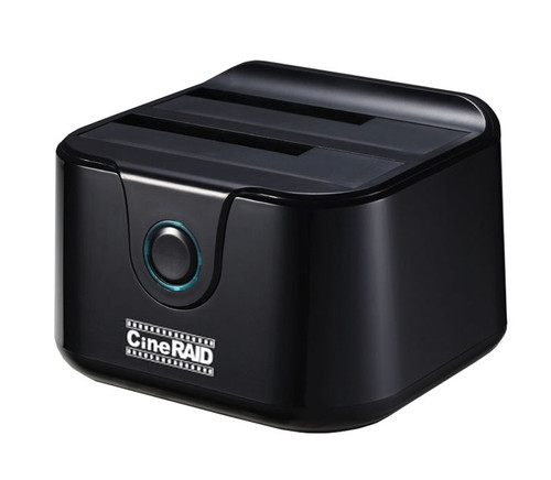 CineRAID CR-H238 Home Series USB-C / 3.1 Gen2 External Dual Bay Hard Drive Dock
