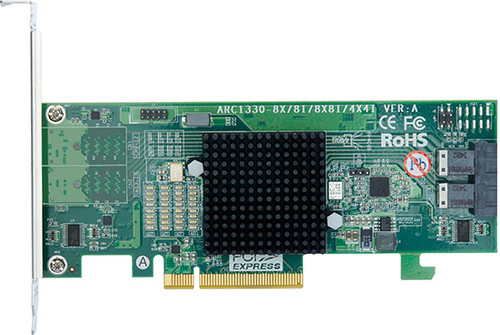 Areca ARC-1330-8i (6Gb/s SAS Host Non RAID Adapter)