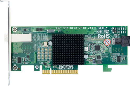 ARC-1330-4I4X (6Gb/s SAS Host Non RAID Adapter)