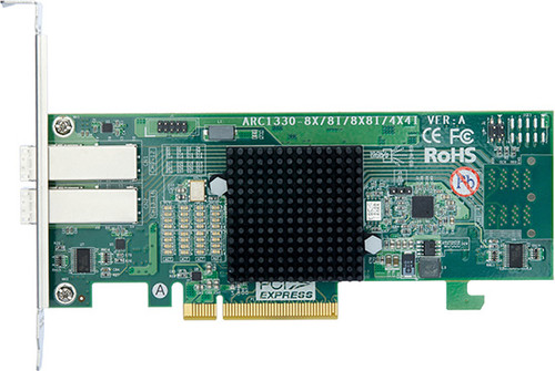 Areca ARC-1330-8X (6Gb/s SAS Host Non RAID Adapter)