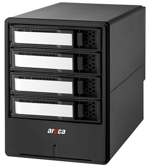 Areca ARC-8050T3U-4 (4 Bay Thunderbolt 3 / USB 3.2 Gen 2 Type C RAID Enclosure)