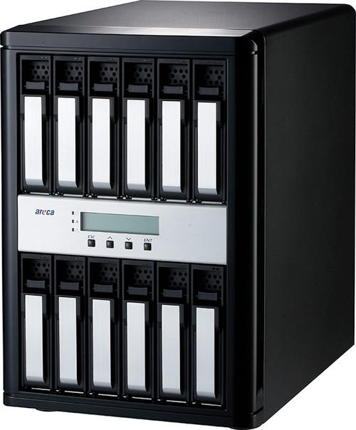 Areca ARC-8050T3U-12 (12 Bay Thunderbolt 3 / USB 3.2 Gen 2 Type C RAID Enclosure)