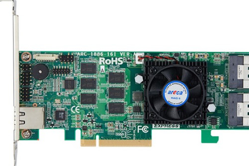 Areca ARC-1886-16i (16 Port PCIe Gen 4.0 Tri-Mode RAID Adapters)