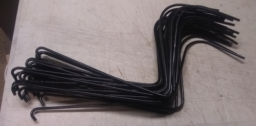 """60 Black Wheel Rake Tine .281"""" H&S, Sitrex, Others Made In USA FREE SHIPPING"""