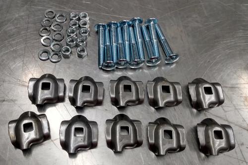 Set of 10 New Holland 55 56 256 hay rake clip kit