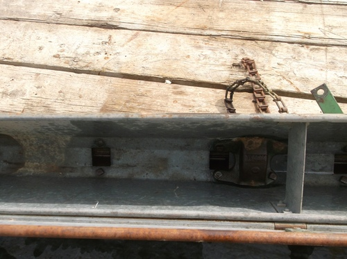 John Deere/Van Brunt Grain Drill Grass Seed Box Used