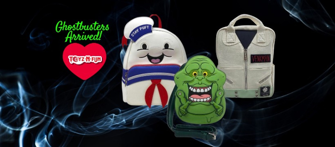 Prepare to fight ghosts! Toyz N Fun now has new Ghostbuster-themed toys and collectibles!