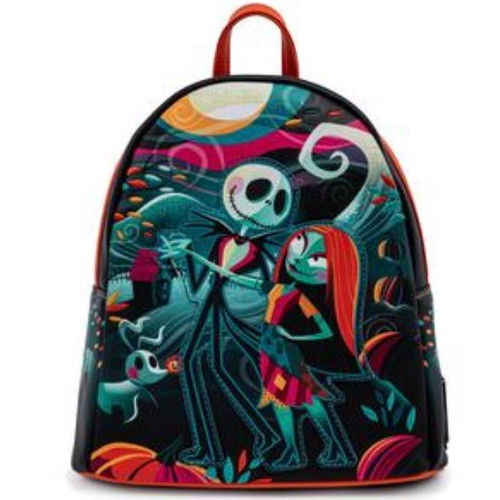 LOUNGEFLY DISNEY NBC SIMPLY MEANT TO BE 2 MINI BACKPACK