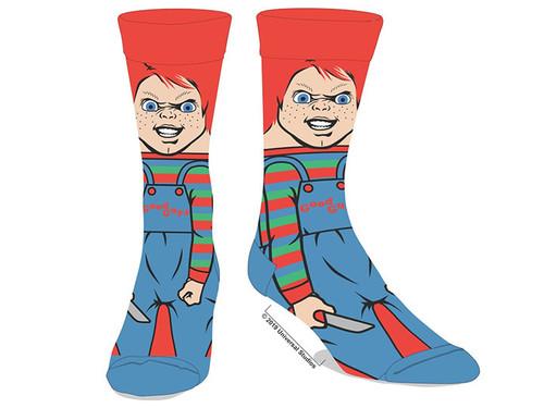 Child's Play Chucky Crew Socks