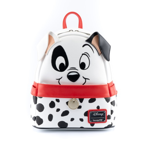 LOUNGEFLY 101 DALMATIONS 70TH ANNIVERSARY COSPLAY MINI BACKPACK  FRONT
