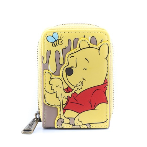 LOUNGEFLY DISNEY WINNIE THE POOH 95TH ANNIVERSARY ACCORDION WALLET