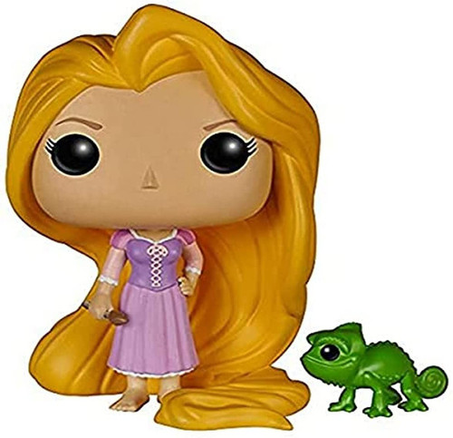 Funko POP Disney Tangled: Rapunzel & Pascal 147 ( comes with pop protector)