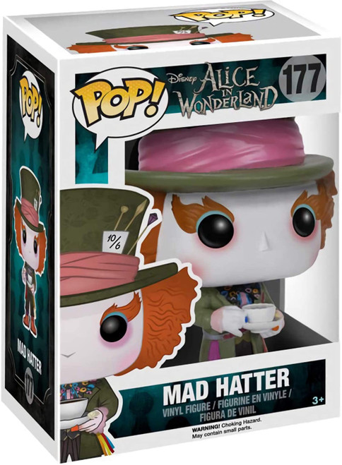 Mad Hatter: Funko Pop! Vinyl Figure 177  (Comes with pop protector)