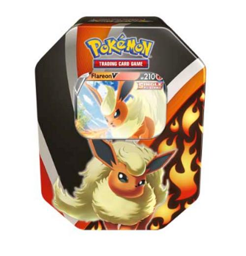 Pokémon TCG: Eevee Evolutions Tin (Flareon V)