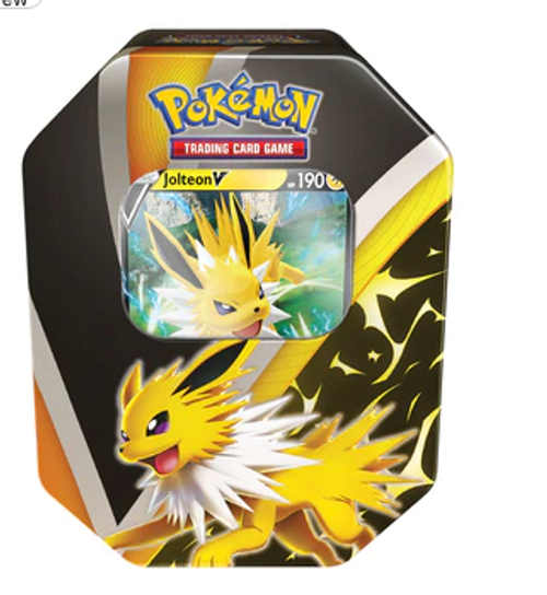 Pokémon TCG Eevee Evolutions Tin Jolteon