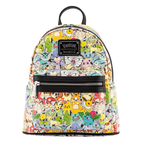 LOUNGEFLY POKEMON OMBRE MINI BACKPACK (PMBK0168) FRONT
