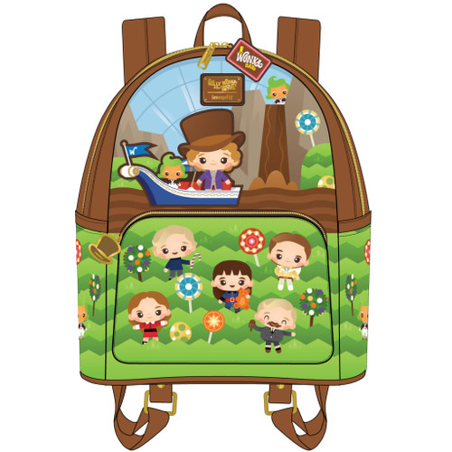 LF WB CHARLIE AND THE CHOCOLATE FACTORY 50TH ANNIVERSARY MINI BACKPACK