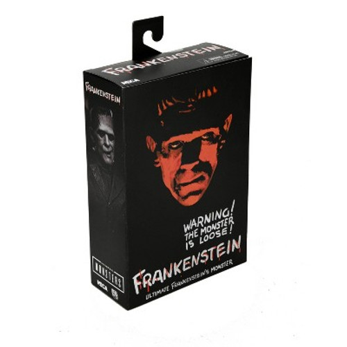 """NECA -7"""" Scale Action Figure- Ultimate Frankenstein's Monster (B&W) FRONT"""