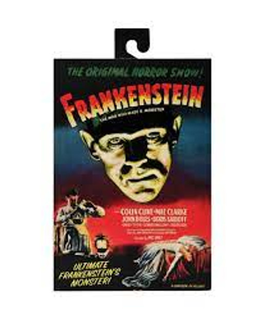 """Universal Monsters- 7"""" Scale Action Figure- Ultimate Frankenstein's Monster FRONT"""