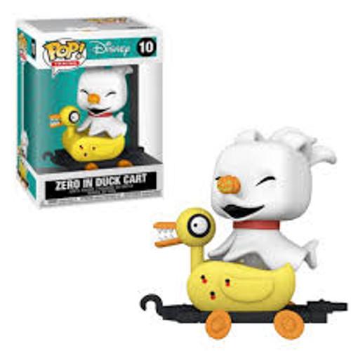 Funko POP! Disney: Trains-Nightmare Before Christmas-Zero In Duck Cart 10