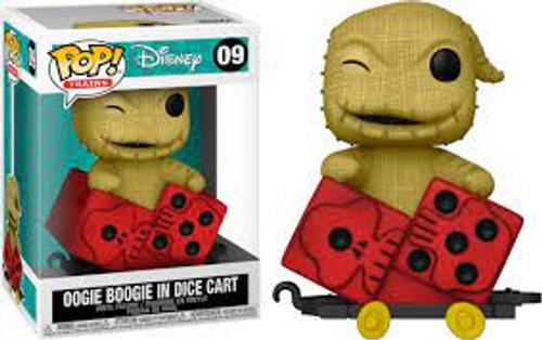 Funko POP! Disney: Trains- Nightmare Before Christmas Oogie Boogie in Dice Cart 09